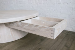 STAVE COFFEE TABLE DRAWER DETAIL